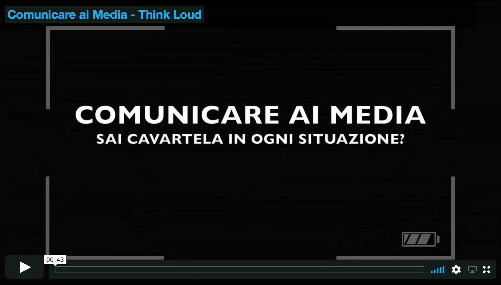 comunicare ai media